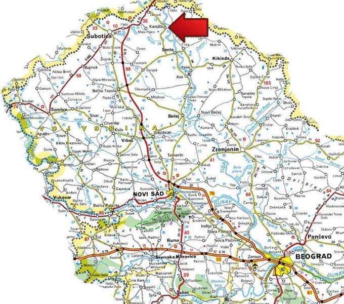 morahalom banja mapa BANJA KANJIŽA | Deus Travel morahalom banja mapa